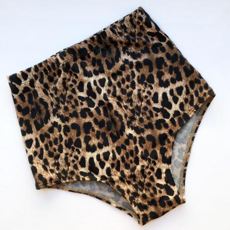 Шорты с высокой талией леопардовые Vasalisa