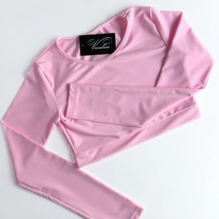 Топ с длинным рукавом Vasalisa розовый