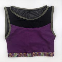 Топ c сеткой Vasalisa фиолетовый