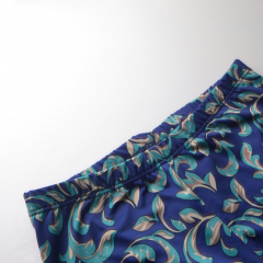 Лосины Vasalisa синие узоры
